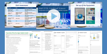 AQA Chemistry: Prepare a Soluble Salt Required Practical Investigation - Required practical, required practicals, required practical investigation, practical investigation,