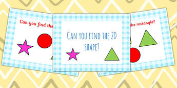 Can You Find the 2D Shape PowerPoint - early years, shapes