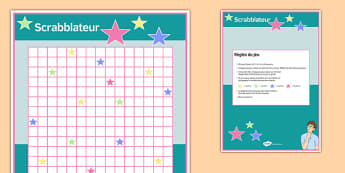 Scrabblateur Board Game French - french, Scrabblateur Board Game, Scrabblateur, Board Game