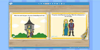 Rapunzel eBook - books, interactive books, traditional tales
