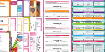 EYFS Diwali-Themed Planning and Resource Pack for 2-5 Year Olds - Diwali, festival of lights, fireworks, Early Years planning, plan, Foundation, continuous provision,