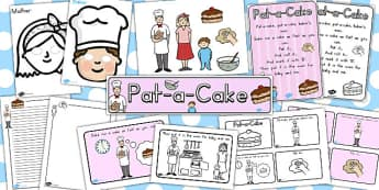 Pat a Cake Resource Pack - australia, resources, pack, pat a cake