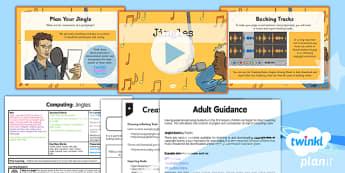 Computing: Radio Station: Jingles Year 5 Lesson Pack 2
