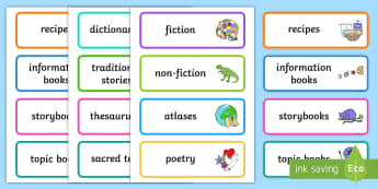 Craft and Structure (RL.K.5) Recognize common types of texts ...