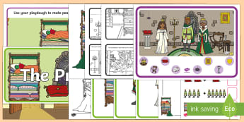 Childminder The Princess and the Pea EYFS Resource Pack - prince, fairy tale, Fairytale, traditional tale, peas,