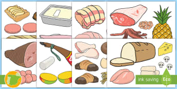 Imágenes para recortar: El mercado - la vida diaria, el entorno, la vida real, juego simbólico, comprar, el mercado, el pueblo,Spanish-t