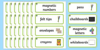 Rowan Tree Themed Editable Writing Area Resource Labels - Themed writing resource labels, literacy area labels, writing area resources, Label template, Resource Label, Name Labels, Editable Labels, Drawer Labels, KS1 Labels, Foundation Labels, Founda