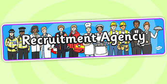 Recruitment Agency Role Play Banner-recruitment agency, role play, banner, role play banner, recruitment agency role play, display banner