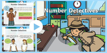 Place Value Number Detectives  PowerPoint  - Year 2 Maths Mastery, digit, number, value, position, unit, ones, tens, hundreds, reason, justify, p