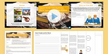 Judaism Lesson 1: Jewish Beliefs and Teachings - KS4, Judaism, Maimonides, Torah, Halakah, GCSE