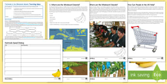 Fairtrade in the Windward Islands Speed Dating Activity Pack - Windward Islands, Fairtrade, bananas, Trade, AQA, KS4, Geography