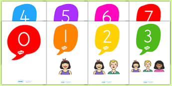 Numbers 0 20 Faces Posters - number, 0-20, face, ourselves, count