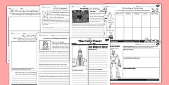 The Iron Man Writing and Activities Sheet Pack - activity pack
