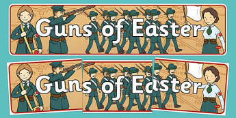 Guns of Easter Display Banner - guns of easter, display banner, display, banner