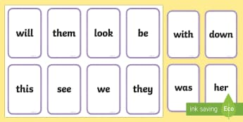 Middle East Phase 3 High Frequency Words Flashcards - Literacy, Phonics, letters and sounds, UAE, Dubai, Abu Dhabi, sounds, KS1, Bahrain.