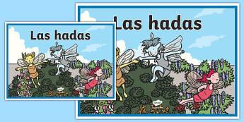 Cartel Las hadas