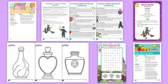 Witches and Wizards Day Activity Pack - family, days in, magic, holidays, holidays