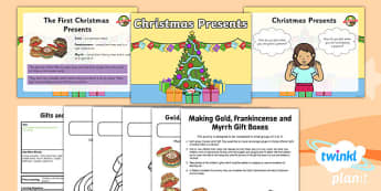 RE: Gifts and Giving: Christmas Presents Year 1 Lesson Pack 3