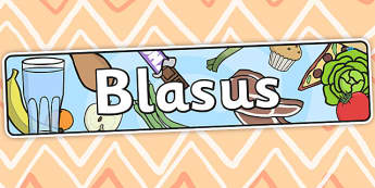 Scrumptious Themed Banner Welsh - blasus, header