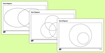 Ks2 venn diagrams primary resources venn diagrams venn diagram templates pack ccuart Gallery