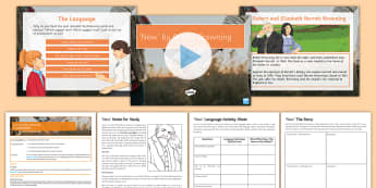 CSE Poetry Introductory Lesson Pack to Support Teaching on 'Now' by Robert Browning - GCSE poetry, anthology, poems, Robert Browning, love poetry, poetry revision, GCSE poetry