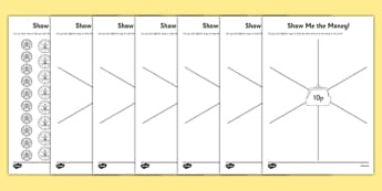 Y1 Show Me the Money Activity Sheet, worksheet