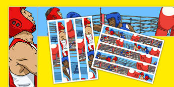 The Olympics Boxing Display Borders - the olympics, rio 2016, rio olympics, 2016 olympics, boxing, display borders