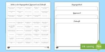 Deutsch Sprache Untersuchen Primary Resources - 1./2.