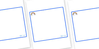 Rainbow Themed Editable Classroom Area Display Sign - Themed Classroom Area Signs, KS1, Banner, Foundation Stage Area Signs, Classroom labels, Area labels, Area Signs, Classroom Areas, Poster, Display, Areas