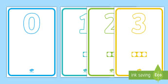 Numbers With Number Shapes 0-50 Display - numbers, number shapes, 0-50, display