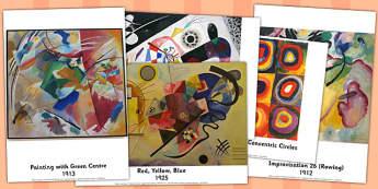Wassily Kandinsky Photo Pack - wassily, kandinsky, photo, pack