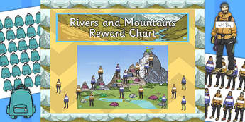 Rivers and Mountains Reward Display Pack - rivers, mountains, reward