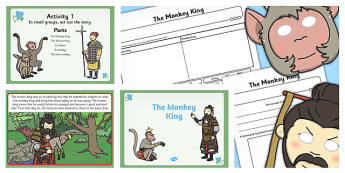 The Monkey King Presentation Teaching Pack - teaching, pack