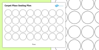 Carpet Place Seating Plan- seating plan, sitting on the carpet, carpet plan, where to sit of the carpet, sitting down, seating, plan, class plan