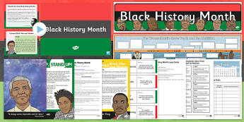 Top 10 Black History Month Resource Pack