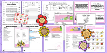 Elderly Care Mother's Day Resource Pack - Elderly, Reminiscence, Care Homes, Mother's Day