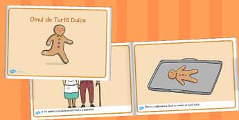Omul de turtă dulce - Carte electronică - omul, turtă dulce, carte, electronică, poveste, crăciun, clasa pregătitoare, materiale, materiale didactice, română, romana, material, material didactic