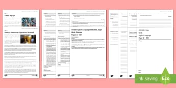 004 Eng Lang EDEXCEL Style P2 Exam Questions Pack - English Language GCSE Exam Papers, EdExcel, non-fiction, Paper 2.