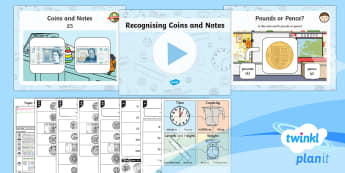 PlanIt Maths Y1 Measurement Lesson Pack Coins and Notes (1)