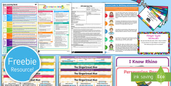 Free Foundation Taster Resource Pack - freebie, sample, EYFS, planning, assessment, test, taste, tester, bumper