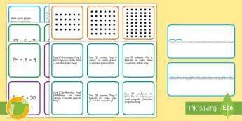 Tarjetas de multiplicar por y dividir entre 6 Juego  - multiplicación, división, por 6, x6, entre 6, entre seis, mates, matemáticas,Spanish