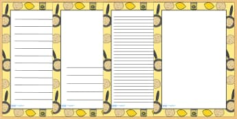 Pancake Day Page Borders - pancake, pancake day, writing, write