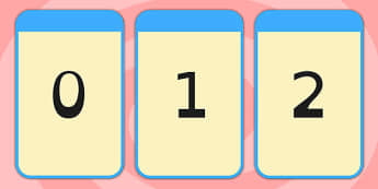 Number Flashcards Dyslexia 0-20 - number, flashcards, dyslexia