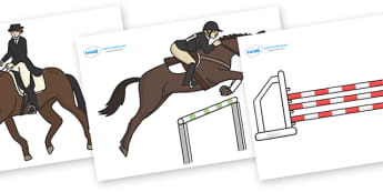 The Olympics Editable Images Equestrian - Equestrian, Olympics, Olympic Games, sports, Olympic, London, images, editable, event, picture, 2012, activity, Olympic torch, medal, Olympic Rings, mascots, flame, compete, events, tennis, athlete, swimming