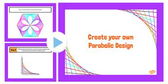 Parabolic Designs PowerPoint - parabolic, design, powerpoint