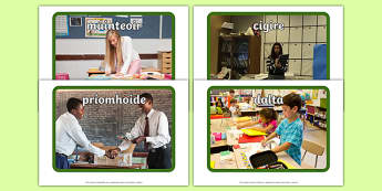 School Occupations Display Photos Gaeilge - gaeilge, display, photos, occupations, hospital, School, Irish