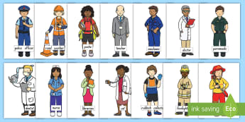 Heroes in Our Community  Cut-Outs  - People Who Help Us, heroes in our community, heroes, hero, display poster, topic, new zealand