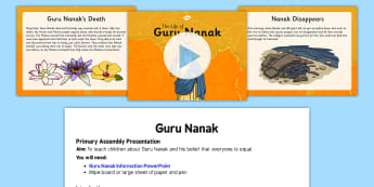 Religious education ideas for prayer assemblies guru nanak assembly script and powerpoint pack fandeluxe Image collections