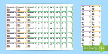 Bee Themed Editable Book Labels - Themed Book label, label, subject labels, exercise book, workbook labels, textbook labels