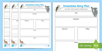Aboriginal Dreaming Story Plan Differentiated Writing Template - Aboriginal dreaming, dreamtime, Aboriginal storytelling, aboriginal culture, indigenous culture